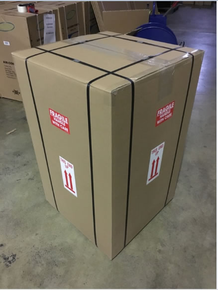 Ups Packaging For Portable Air Conditioner